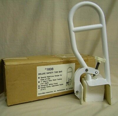 """Duro-Med Deluxe Safety 15"""" Tub Bar Handle #1608"""