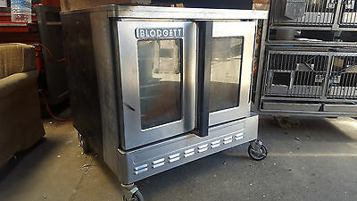Single Deck CONVECTION OVEN by BLODGETT on Wheels Gas Bakery