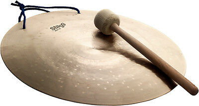 """STAGG WDG-16 Wind Gong 16"""" avec mailloche"""