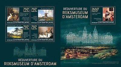 CA13411ab Central Africa 2013 Rijksmuseum MNH SET