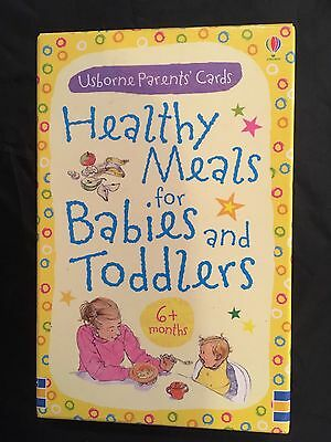 Brand New Healthy Meals For Babies And Toddlers From Usborne