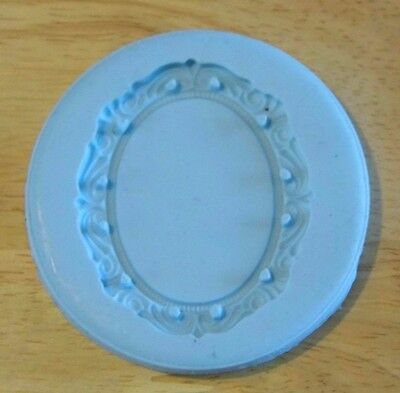 Cameo Silicone Mold - Charm Size for Polymer Clay Resin Epoxy Sugarcraft