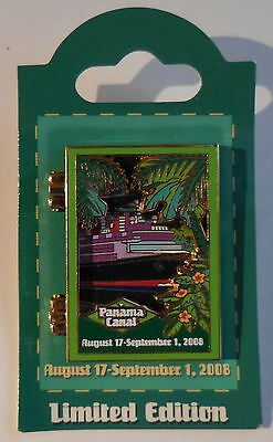 Disney Pin DCL Panama Canal Eastern Repositioning (8/17/08- 9/1/08) Logo LE1500