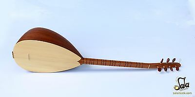 Turkish Professional Short Neck Mahogany Baglama Saz Mss-101