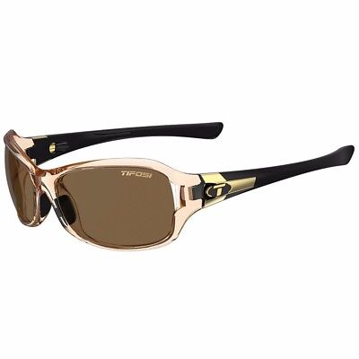 NEW Tifosi Optics Tifosi Dea Sl Crystal Brown & Black Single Lens Sunglasses - B