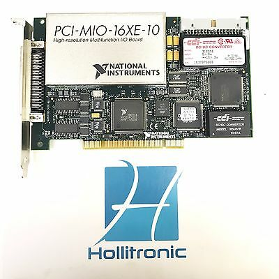 National Instruments PCI-MIO-16XE-10 DAQ High-Resolution Multifunction I/O Card