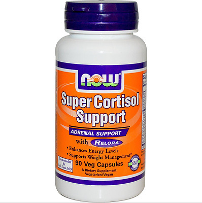 Now Foods - Super Cortisol Support - 90 Caps - Relora - Weight & Energy Support