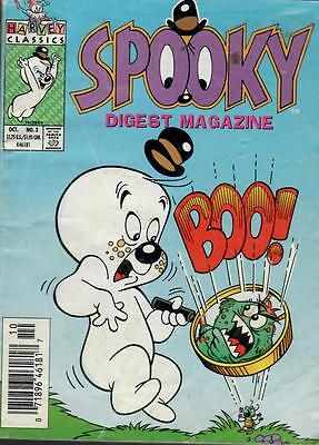 Spooky  Digest  Magazine  #  3.  Excellent  Condition. 1993.