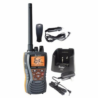 NEW Cobra Electronics Cobra Mr Hh350 Flt Floating 6w Vhf Radio