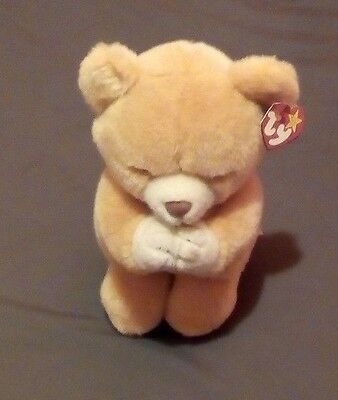 TY BEANIE BABY HOPE THE PRAYING BEAR kids toy Medium size stuffed animal