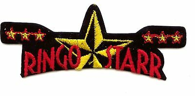 Original Beatles Ringo Starr And His All-Starr Band- Embroidered Concert Patch