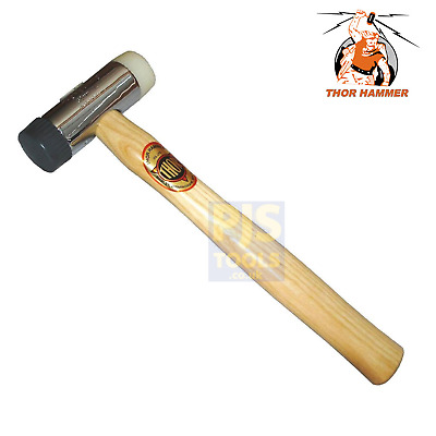 Thor 710R nylon soft & hard face hammer mallet 32mm window glazing beads THO710R