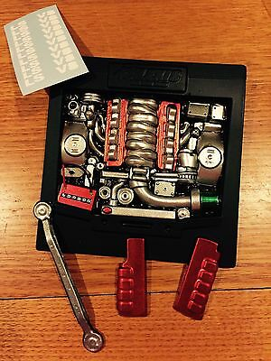 Body RC Car LS V8 Engine Bay Polycarbonate Painted 1:10 Drift