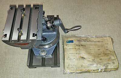 "Precision Angle Tilting 4""x6"" Table Emco Maximat Super 11 Lathe & FB-2 Mill #2"