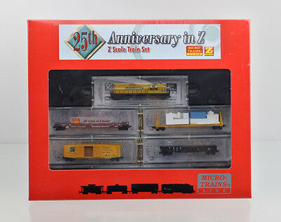 Micro Trains Z Scale 994 01 060 Lake Co.r.r. Gp-9 Diesel 25Th Anniversary Set