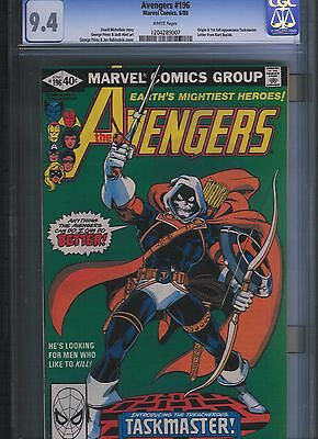 Avengers # 196 CGC 9.4  White Pages. UnRestored.
