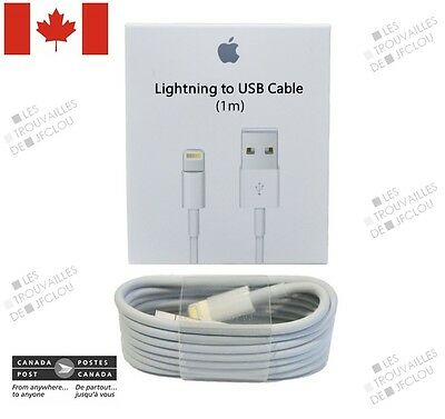 New Original Apple Lightning USB Charging Cable For iPhone 5, 5S, 6, 6S, 6S Plus