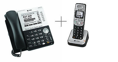 AT&T Synapse SB67030 + SB67040 Business Phone COMBO DECT 6.0 and Large Display