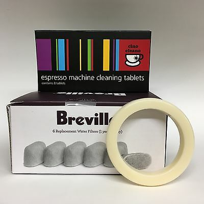 Bwf100, Cleaning Tablets + Seal - Breville Coffee Bes870 Machine Cleaning Kit
