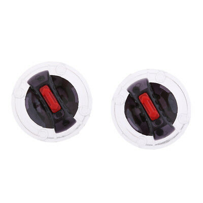 Pair Helmet Screen Lens Mounting Fix Base with Rotate Switch for LS2 Helmet