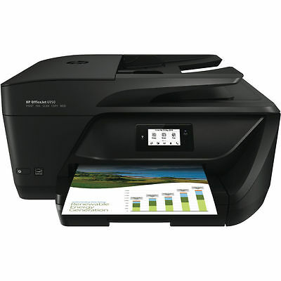 HP Officejet Pro 6950 All-in-On Copier/Fax/Printer/Scanner WiFi Apple AirPrint