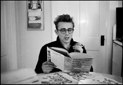 "022 James Dean - USA Movie Star Actor 20""x14"" Poster"