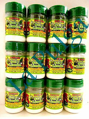 Sal y Limon - Salt and Lime Powder Mexican Seasoning Pico de Gallos 12 Total