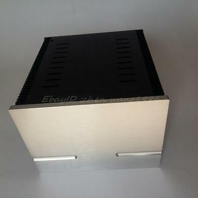 180A class A full aluminum power amplifier chassis enclosure box for DIY