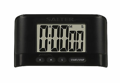 Salter Slow Cook Digital Kitchen Timer - LCD Electronic Cooking Timer - Black