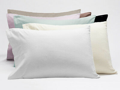 Egyptian Cotton Flannelette/Flannel Standard Pillowcases,Standard Pillow Case