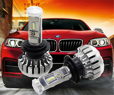H7 PHILIPS 252W 25200LM LED Headlight Kit Conversion Bulbs Hi Power 6500K Canbus