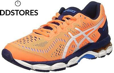 Asics Gel Kayano 23 Gs Chaussures de Tennis Mixte Enfant Orange Shocking...