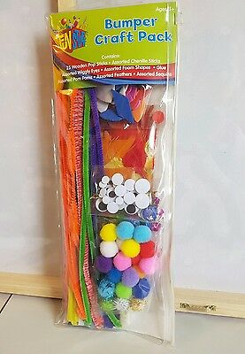 NEW - Kids Bumper Craft Pack - Assorted contents!