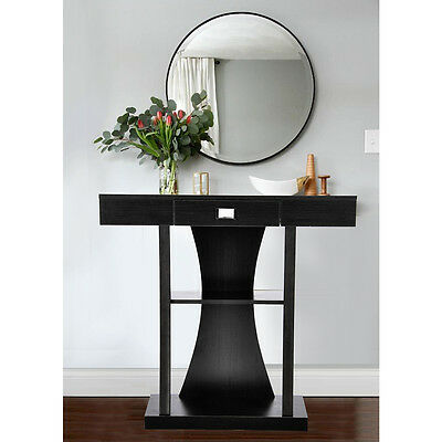 Console Stand Modern Home Deco Unit Hallway Furniture Mirror Side Storage Table