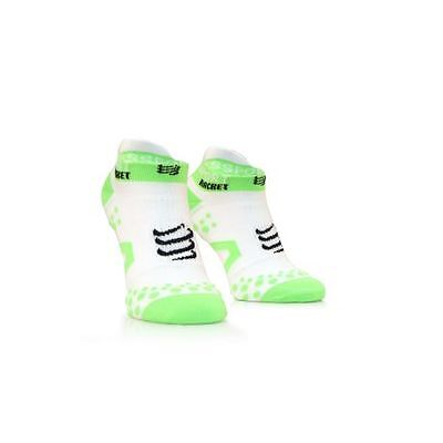 Compressport Strapping Double Layer Socks Low Cut - Blanc - Racket