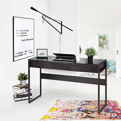 Modern Console Table/Computer Desk Hallway Bedroom Dressing Table Drawer Storage