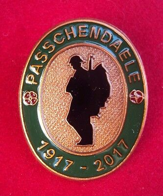 Ww1 1917-2017 Battle Of Passchendaele Enamel Badge