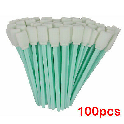 USA Stock-50 PCS Foam Cleaning Swabs for Epson, Roland, Mimaki, Mutoh, XAAR, 5''