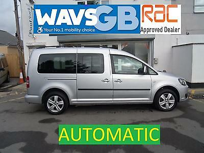 Volkswagen Caddy Maxi 1.6TD Auto Mobility Wheelchair Access Vehicle Disabled WAW