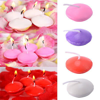 HOT SALE 10Pcs Small Unscented Floating Candles for Wedding Party Home Decor