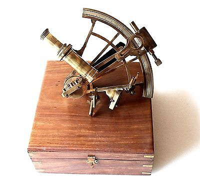Nautical Marine Sextant German working Model Vintage Collectible Nautical Gift