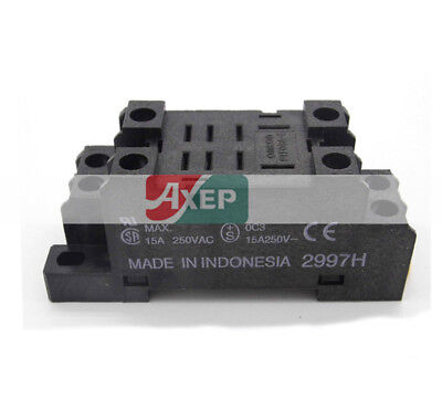 Omron PTF08A-E Relay Base Socket 8 Pin,Use for LY2N-J New