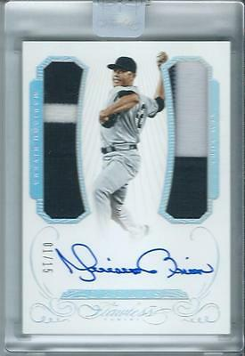 2016 Panini Flawless Mariano Rivera Greats Dual Patch Auto 1/15