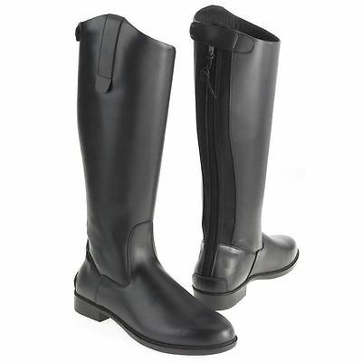 White Horse Equestrian Ladies Men Horse Riding Classic Show Leather Long Boot