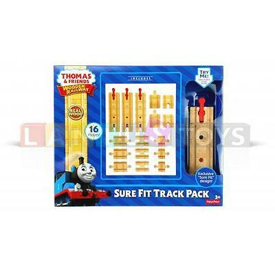 Fisher-Price Holz Thomas the Train Railway Sure-Fit Track Pack ab 3+  Jahre