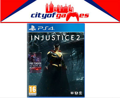 Injustice 2 PS4 Game New & Sealed Free Express Post In Stock