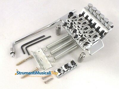 Ponte Floyd Rose Licensed Tremolo Double locking Cromato per Chitarra Elettrica