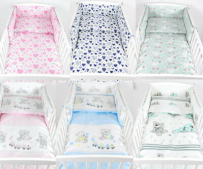Babylux Bed Set Bumper Head Protection Nest Crib 210 x 30 cm
