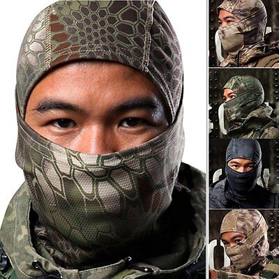 Military Tactical Outdoor Airsoft Ski Quick-drying Hood Balaclava Full Face Mask