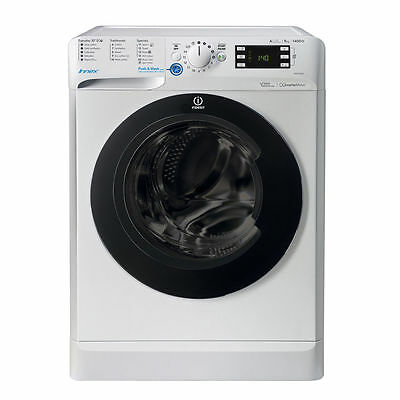 Indesit BWE91484XWKKKUK 9kg 1400 rpm Washing Machine White FA8572